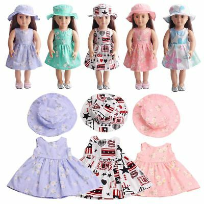 Dolls Accessory 18'' American Girl/Our Generation/My Life Dolls Dress Xmas Gift