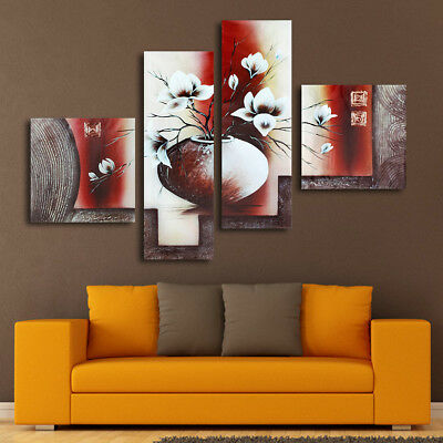 4 Panels Large Canvas Prints Painting Picture Unframed Wall Art Home Decor
