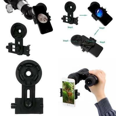 Universal Adapter Cell Phone Camera For Telescope Binocular Spotting Scope Mount