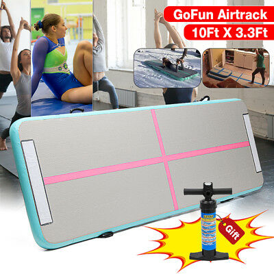 GoFun Airtrack Tapis Gonflable Home Inflatable Gymnastique Tumbling Mat GYM NEUF
