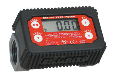 "1"" Digital fuel turbine flow meter, ATEX approved, diesel, kerosene,petrol"