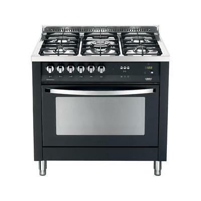 Lofra Cucina Combinata Rainbow Cookers PNMG96GVT/C 90 cm Nero Matt