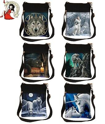Nemesis Now Fairy Wolf Unicorn Witching Cat Stokes Parker 23cm High Shoulder Bag