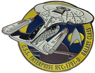 Enterprise 1701-D - exklusiver Sammler Collectors Pin Metall - Star Trek - neu