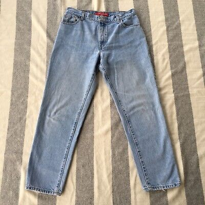 Vintage Levis 550 Jeans Womens Sz 14M Relaxed Fit Tapered Leg High Waist Mom