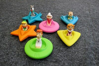 1989 Wendy's The Jetson's Happy Meal Toys (6) - Complete Set  **hanna-Barbera**