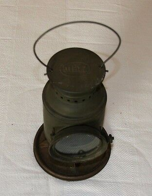 WWII Dietz #60 Convoy Aiming Lamp,  circa WWII, Mounted on Base, VGC