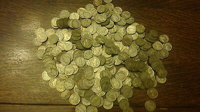 1942-1945 Silver War Nickels Lot 1 Coin