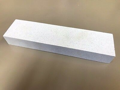 """New Made In USA Custom 400 Grit Arctic Sharpening  Stone 1"""" x 2"""" x 8"""" - Fine"""