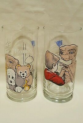 ET Extra Terrestrial Glasses Collectible Pizza Hut 1982 I'll Be Right Here Home