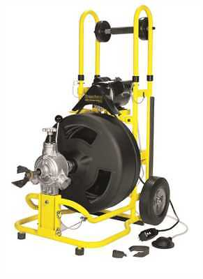 """Speedway ST-4540 Cable Drum Drain Cleaning Machine w/ 1/2"""" x 100' Cable"""