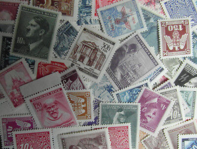 GERMANY 3rd REICH / Adolf Hitler / WWII BOHEMIA & MORAVIA 30 Mint NH Stamps