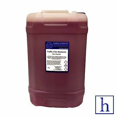 TFR Traffic Film Remover Non Caustic 25 Litre Drum Shampoo Car Vehicle 25L HUMAC