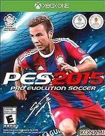 Pro Evolution Soccer 2015 Game (Xbox One, 2014) NEW