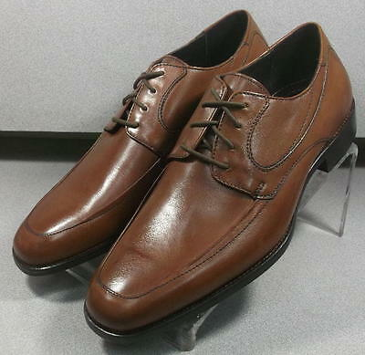 591540 MS50 Men's Shoes Size 9 M Brown Leather Lace Up Johnston & Murphy