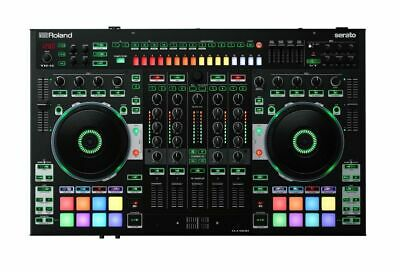 Roland DJ-808 Professional DJ Controller w/ Built in 4-channel mixer & much more