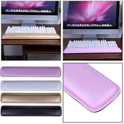 PU Leather Wrist Keyboard Hand Support Pad Computer Laptop Rest Comfort Cushion