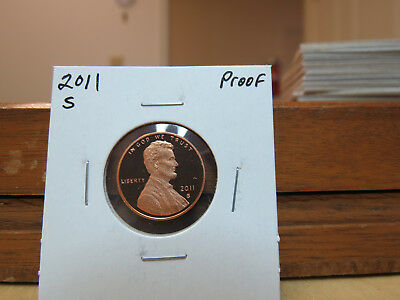 2011 S Proof Lincoln Shield Cent