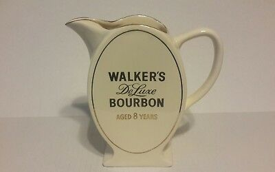 Vintage WADE REGICOR WALKERS DELUXE BOURBON PITCHER LIMITED ENGLAND