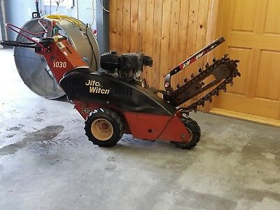 Ditchwitch Trencher 1030 w/ 11 HP Honda motor