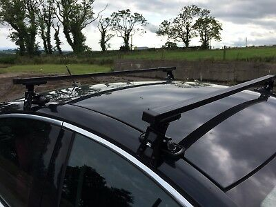 Vauxhall Insignia Hatchback Saloon (09-17) Roof Bars D-6 set 130cm Very Stable !