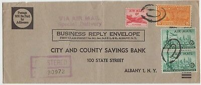 1931 15¢ Special Delivery 1951 Combined Business Reply AirMail Scott E16 C35 C39