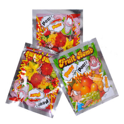 10pcs Funny Fart Bomb Bags Stink Bomb Smelly Gags Practical Jokes Fool Toy Gifts