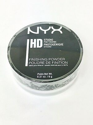 "100% Authentic NYX HD Studio Finishing Loose Powder - ""Translucent SFP01"""