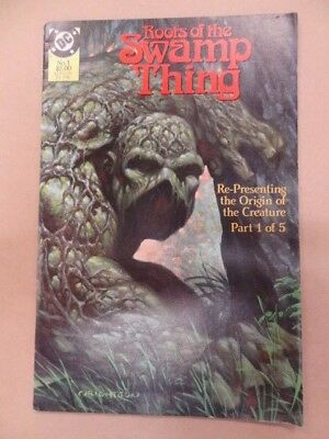 DC COMICS ROOTS OF THE SWAMP THING No 1 JUL 1986 - GOOD TO FINE
