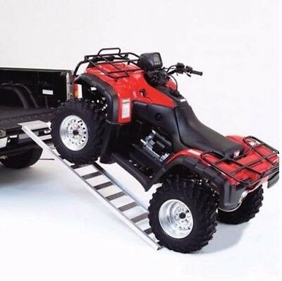 Atv Truck Ramps >> Atv Ramps Loading Ramps For Atv Pickup Truck Aluminum Lawnmower