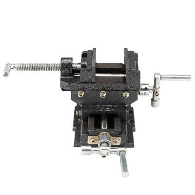 "Cross Slide Vise 5"" inch Wide Drill Press X - Y Clamp Milling Heavy Duty New"