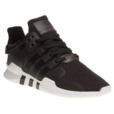 205135b09483 MENS ADIDAS BLACK Eqt Support Adv Nylon Sneakers Running Style Lace ...