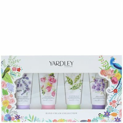 Yardley Hand Cream Collection Gift Set For Her 50ml x 4