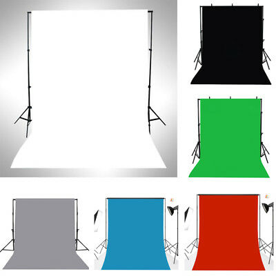 3x5FT Thin Vinyl Photography Backdrops Photo Studio Props Background 5 Colors