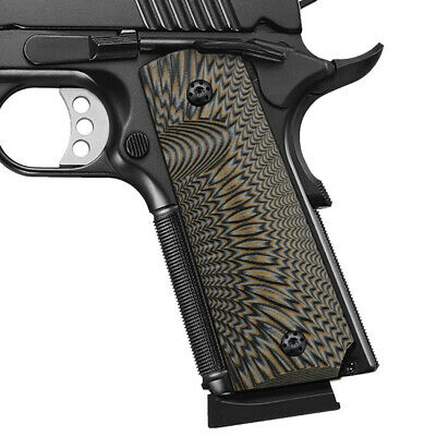 COOLHAND 1911 SLIM G10 Grips Full Size Mag Release Ambi