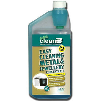 James Products Seaclean2 Metal & Jewellery Concentrate Cleaner  SEACLEAN2/1L