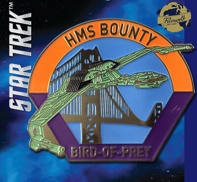 HMS Bounty Klingon - exklusiver Sammler Collectors Pin Metall - Star Trek - neu