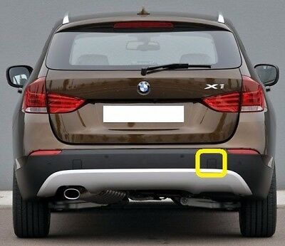 Genuine OEM BMW X1 Series E84 Rear Right Bumper O/S TOW HOOK COVER 5112 7303816