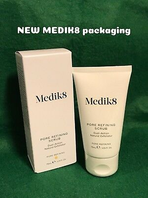 Medik8 PORE REFINING SCRUB Dual-Action Exfoliator *NEW & GENUINE* prof strength