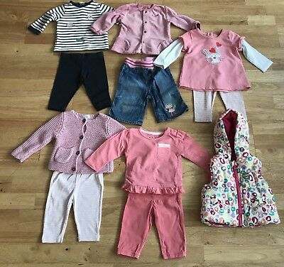 Bundle baby girls outfits gilet 3-6 months