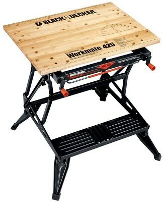 Black and amp; Decker Workmate 500-Pound Capacity Portable Work Bench Compact