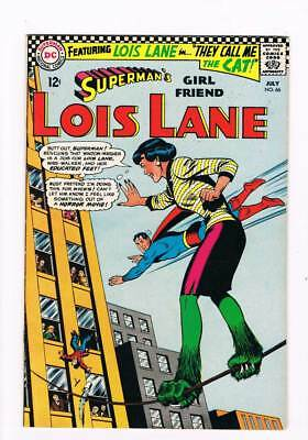 Lois Lane # 66 They Call Me the Cat !  grade 7.5 scarce book !!