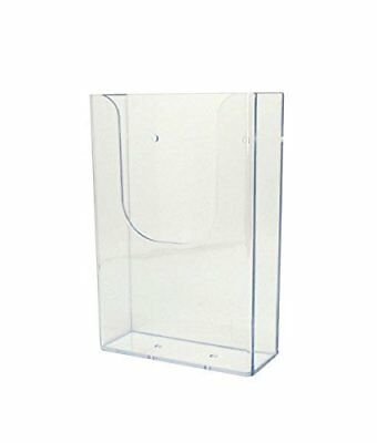 Source One Tall Boy Trifold Wide Wall Mount Brochure Holder TB 6 Pack