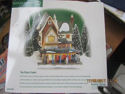 Dept 56 The China Trader #58447 Dickens Village Series  (New)