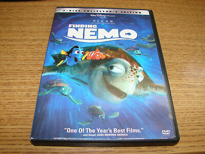 Finding Nemo (DVD, 2003, 2-Disc Set, Slipcover, AUTHENTIC) ***VERY GOOD***