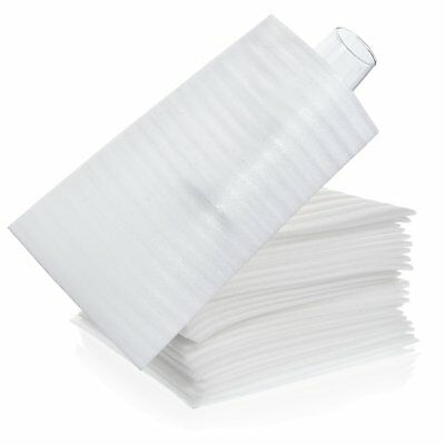 """30 Count - 7"""" x 11 7/8"""" Moving Cushion Foam Glass Pouch, Packing Supplies for &"""