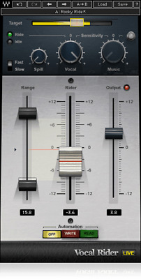 Waves Vocal Rider Automation AAX + Mixing Lessons + 24hr E-Delivery!