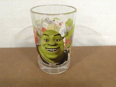 SHREK McDonald's 2007 Collectible Drinking Glass 3rd Movie DreamWorks Animation