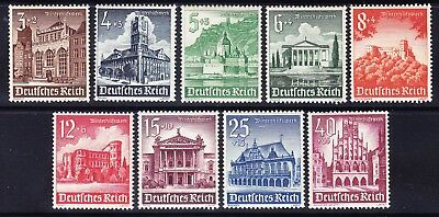 GERMANY 1940 Winter Relief Fund SG739/47 - set of 9 - unmounted mint. Cat £50