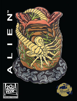 Alien Facehugger- exklusiver Sammler Collectors Pin Metall - Fansets - neu